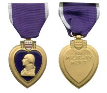 Rivera received the Puple Heart and Other Medals for his service in Vietnam